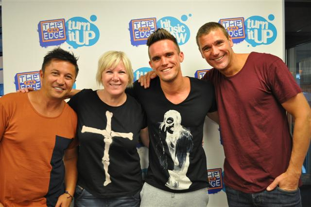 Gaz from Geordie Shore meets his kiwi fans
